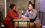 "With Shona Tucker in John Cariani's ""Love / Sick."""