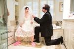 "Jennifer and Greg Skura in Half Moon Theatre's production of ""Love/Sick."""